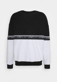 Moschino Underwear - Pyjamasoverdel - black/white - 5