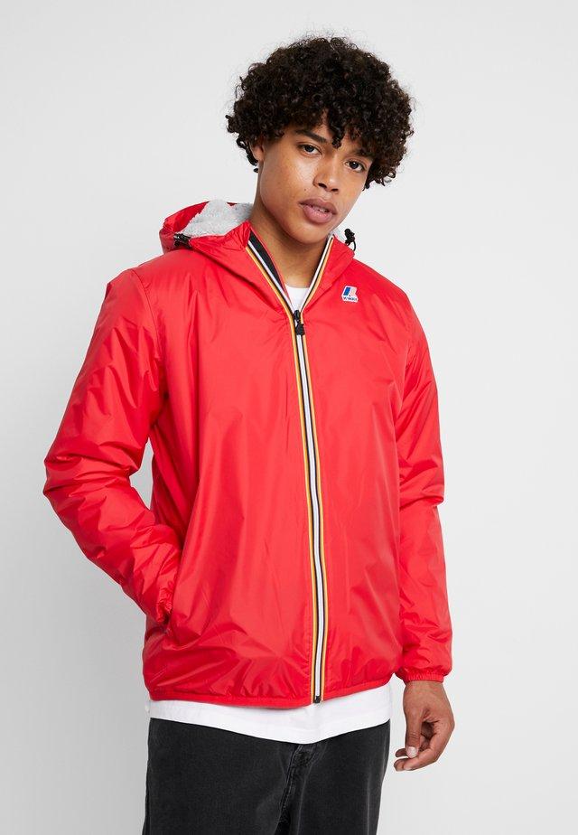 UNISEX CLAUDE ORESETTO - Light jacket - red