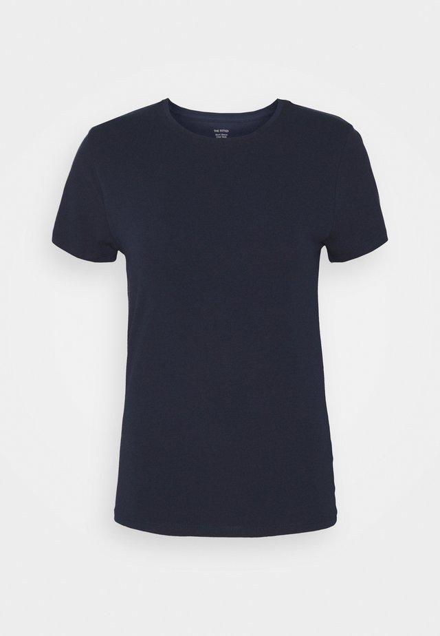 FITTED CREW - T-shirt basic - dark blue