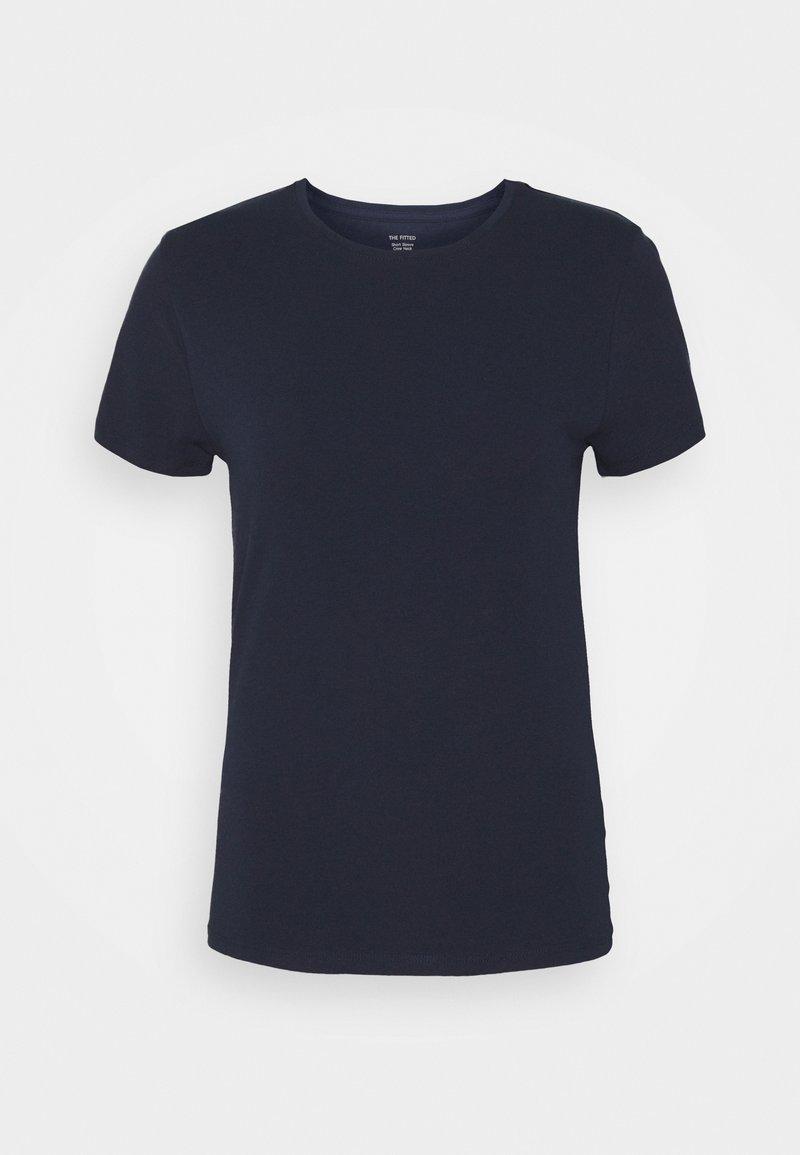 Marks & Spencer London - FITTED CREW - Camiseta básica - dark blue