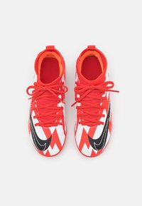 Nike Performance - MERCURIAL JR 8 CLUB CR7 FG/MG UNISEX - Kopačky lisovky - chile red/black/white/total orange - 3