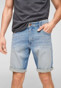 Q/S designed by - Jeans Shorts - light blue - 4