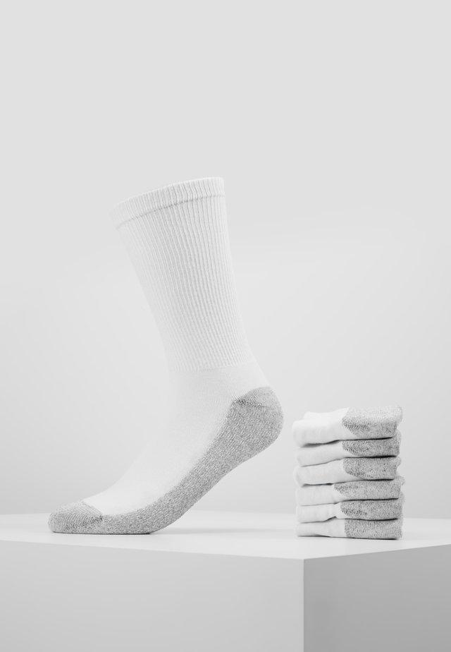 CREW SOCKS ECODIM SPORT 6 PACK - Sokker - white