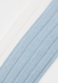 Anna Field - 2 PACK - Knestrømper - blue/white - 2
