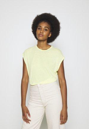 ONLTRULY NEW  - Jednoduché triko - sunny lime