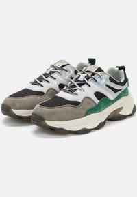 Crosby - Sneakers laag - black/green - 2