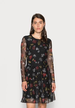 DRESS MICKEY - Vapaa-ajan mekko - black