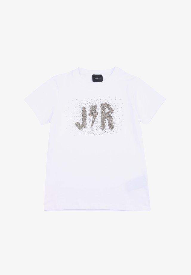 BAMBINA JOHN RICHMOND RGA20223TS - T-shirt print - bianco
