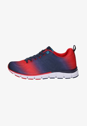 Trainers - navy/red/white