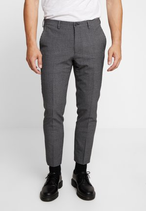 MOSKENES - Stoffhose - charcoal