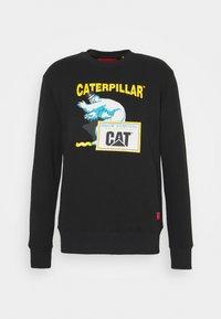 Caterpillar - ICE MAN GRAPHIC - Bluza - black - 0