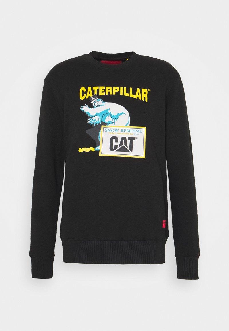 Caterpillar - ICE MAN GRAPHIC - Bluza - black