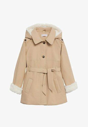 Short coat - zand