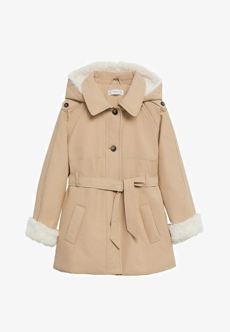 Mango - Short coat - zand