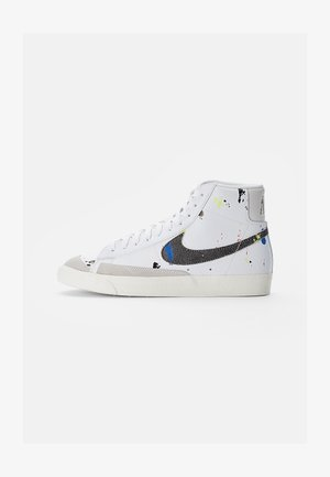 BLAZER MID - Zapatillas altas - white/black-white-sail-black-team orange