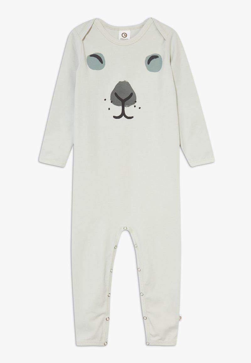 Müsli by GREEN COTTON - RABBIT FRONT BABY ZGREEN - Pyjama - blue fox