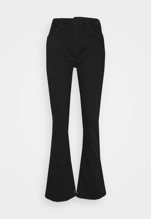 THE CHARM - Flared Jeans - black shadow