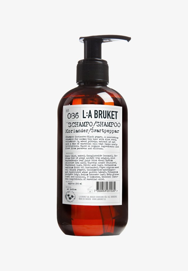 SHAMPOO - Shampoo - no.86 coriander/black pepper