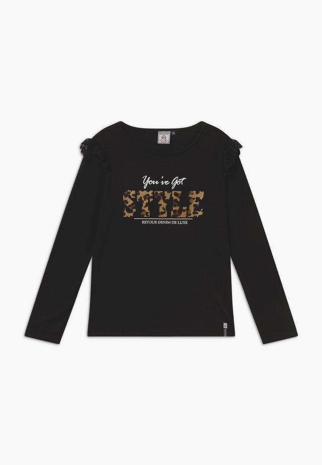 ROMILDA - Camiseta de manga larga - black