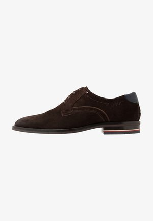 SIGNATURE SHOE - Derbies - cocoa