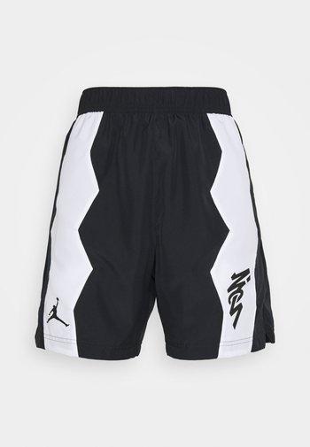 ZION SHORT - Sports shorts - black/white