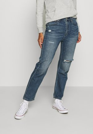 BOYFRIEND CLAVEL DEST - Relaxed fit jeans - dark indigo