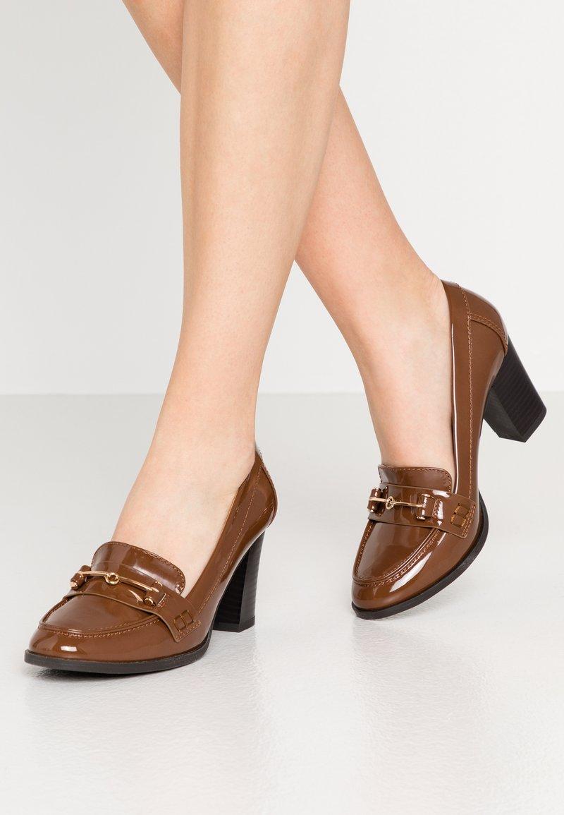 Wallis - CONQUER - Classic heels - toffee