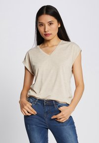 Morgan - Print T-shirt - beige - 0