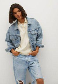 Mango - Denim jacket - bleu moyen - 0