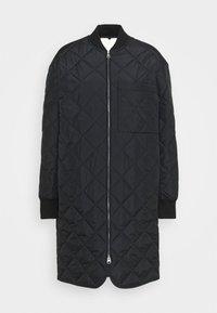 Short coat - black dark