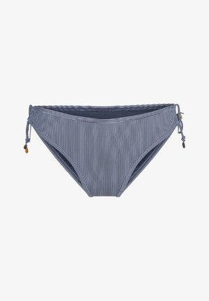 MIT SCHNUR ABELLA - Bikini bottoms - blue