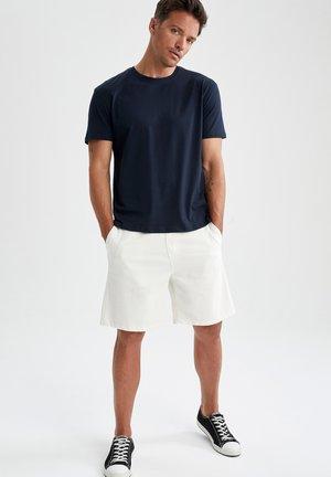 3 PACK - Basic T-shirt - navy