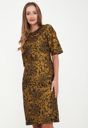 NOELLA - Day dress - schwarz/senf