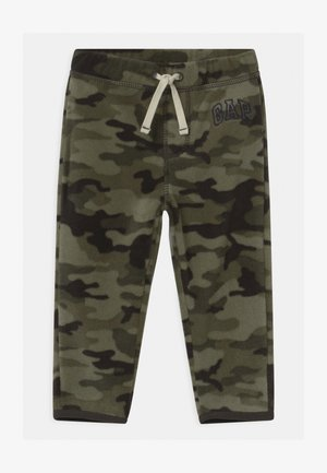 Trousers - black moss