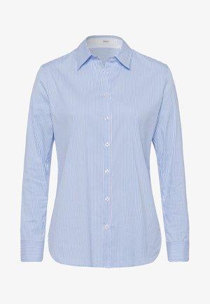 STYLE VICTORIA - Button-down blouse - blue