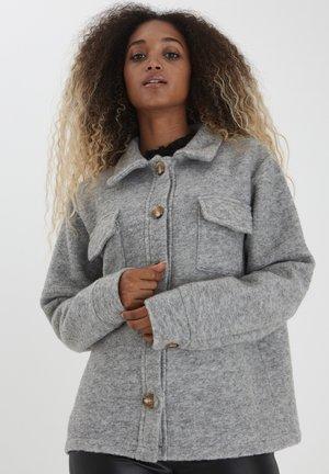 Summer jacket - light grey melange