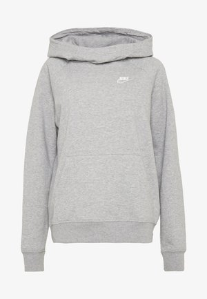 Kapuzenpullover - grey heather/white