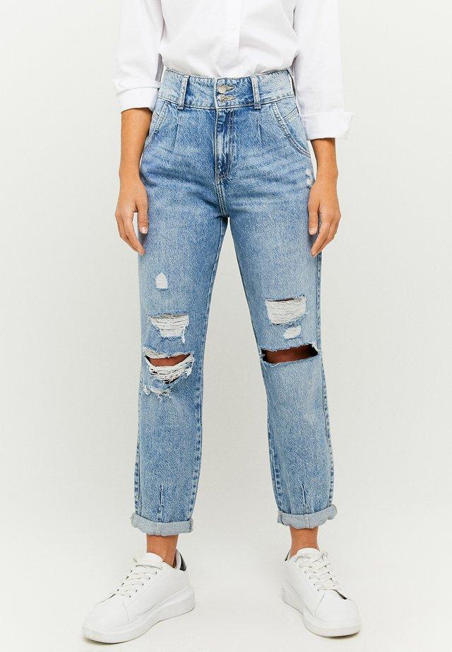 HIGH WAIST SLOUCHY - Jeans baggy - blue