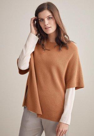 SUPERIOR  - Print T-shirt - camel