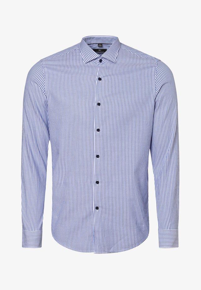 Shirt - blau weiß