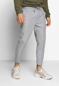 Kings Will Dream - BOLO SMART JOGGERS  - Tygbyxor - grey - 0
