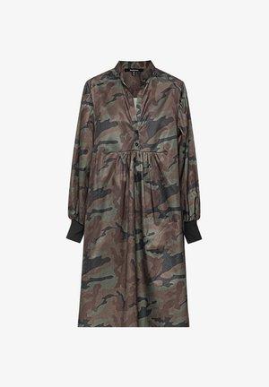 Shirt dress - camouflage