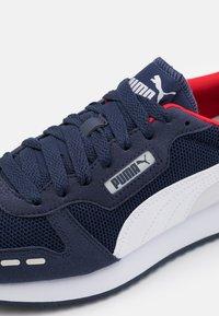 Puma - R78 UNISEX - Zapatillas - peacoat/white/gray violet - 5