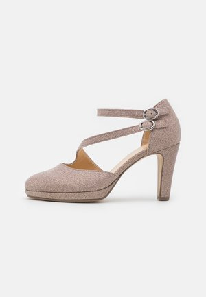 High heels - rosato