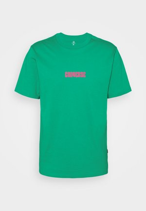 STAR CHEVRON BOX SHORT SLEEVE TEE - Print T-shirt - court green