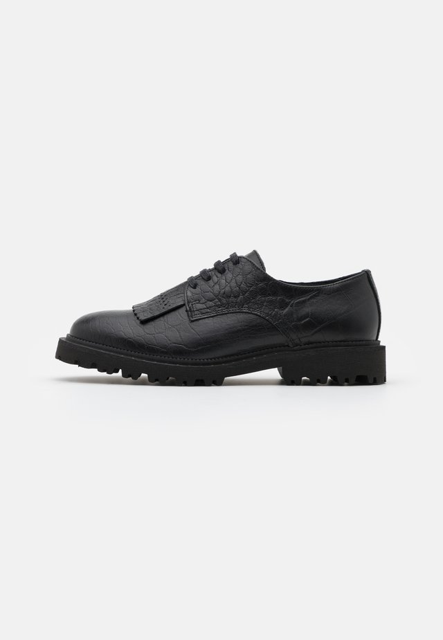 SLFDANI KILTIE DERBY SHOE  - Stringate - black