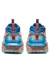 Nike Sportswear - REACT VISION  - Trainers - light bone photo blue team red terra blush - 4