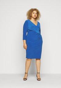 Lauren Ralph Lauren Woman - CLEORA  DAY DRESS - Shift dress - dark cerulean - 1