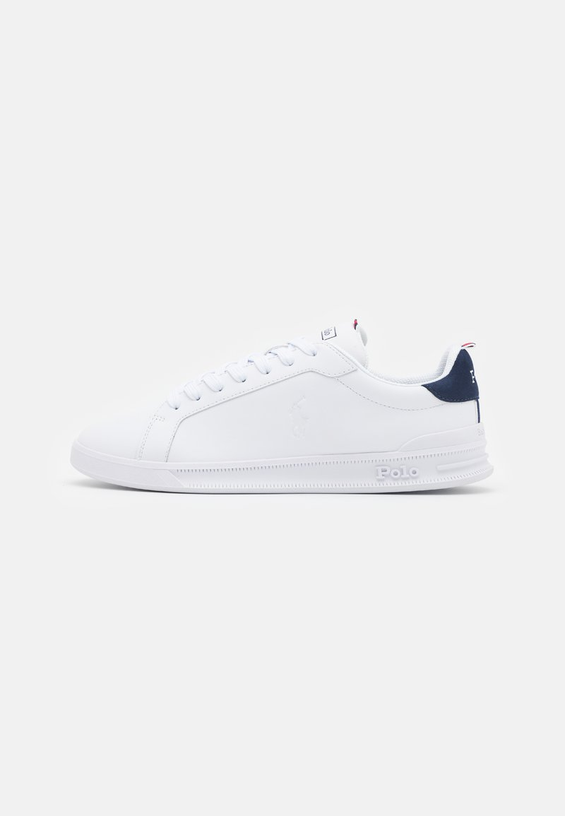 Polo Ralph Lauren - HERITAGE COURT UNISEX - Trainers - white/navy/red