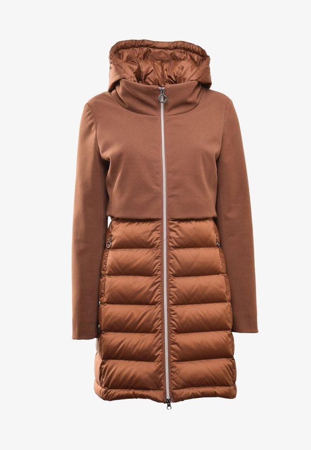 Down coat - 0190 camel
